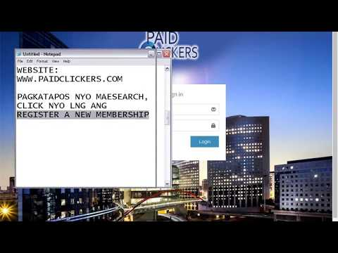 PaidClickers UnliClick - How To Be a Member and Earn Money