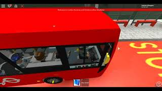 Roblox London Hackney & Limehouse bus Simulator E200 (Long Verson) Demonstrator CTP Route 388 Test