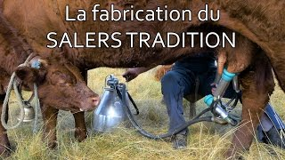 La fabrication du fromage Salers Tradition - GAEC Taillé | CANTAL