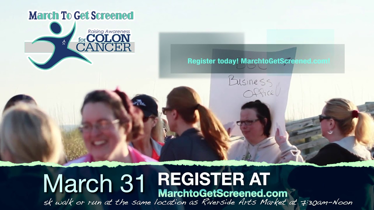 March to Get Screened – Annual 5k for Colon Cancer Awareness #Gastroenterology