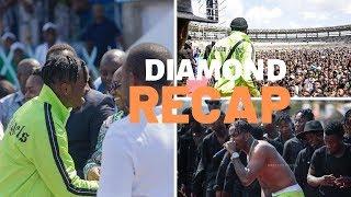 Recap: Diamond azua balaa Uwanja wa Taifa, mashabiki wazuia geti, wamkejeli Harmonize, hapakutosha