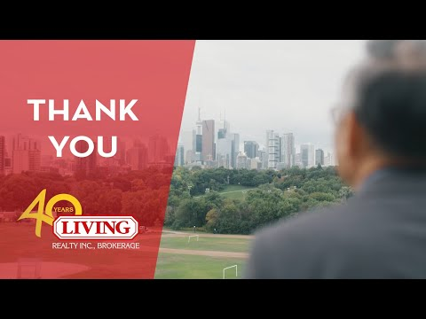 Living Realty 40th Anniversary | Thank You