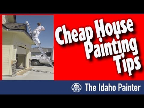 3 CHEAP ways to Improve a House Paint Job