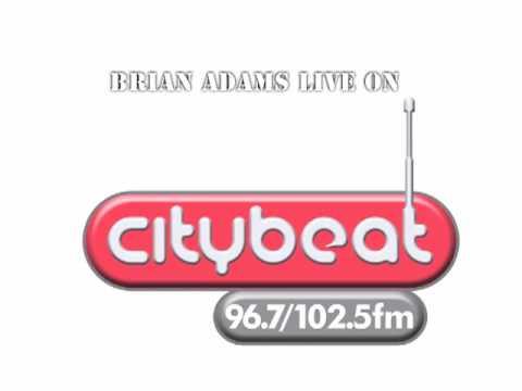 bryanAdams interviewed live on air in Citybeat radio belfast northern ireland