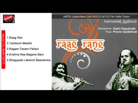 Raag Rang.   Krishna Nee Begane Baro.Kadri Gopalnath & Pravin Godkhindi.