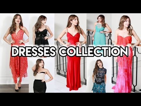 EVENING DRESSES COLLECTION! McQueen, Dolce & Gabbana, Self Portrait, Topshop & More! Amelia Liana