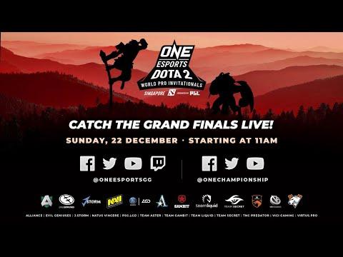 Full event] ONE Esports Dota 2 Singapore World Pro Invitational Grand  Finals - YouTube