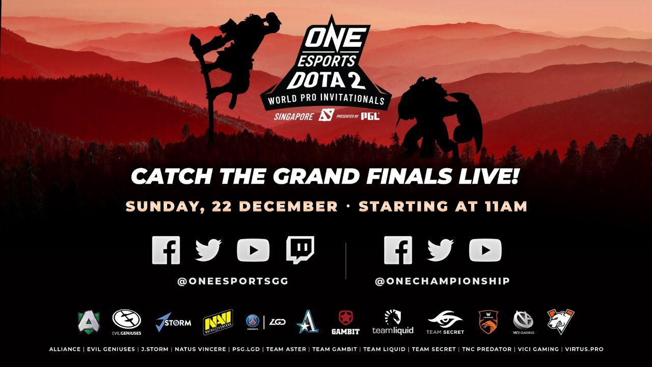 [Full event] ONE Esports Dota 2 Singapore World Pro Invitational Grand Finals thumbnail