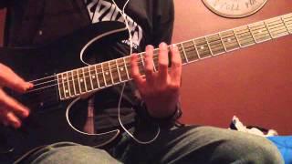Bullet For My Valentine - Scream Aim Fire (Guitar Cover/Using Amplitube 3)