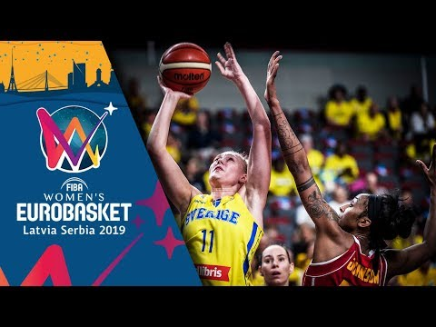 Sweden v Montenegro - Highlights - FIBA Women's EuroBasket 2019