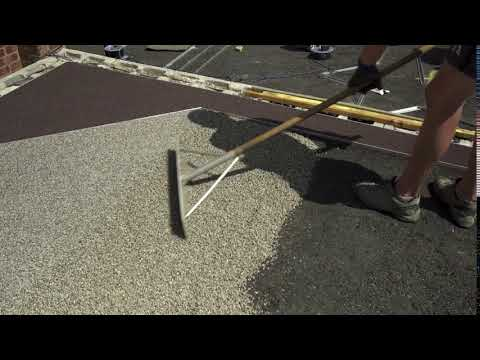 LAYING A RESIN BOUND DRIVEWAY TRAILER