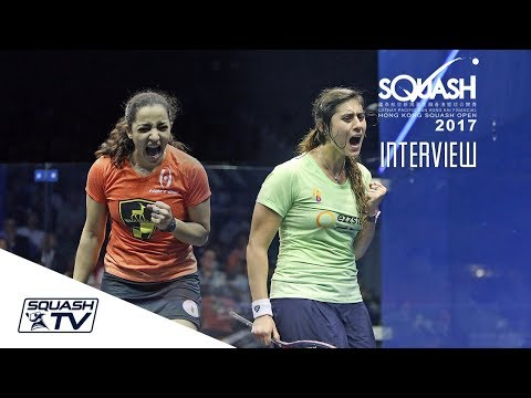 Squash: Hong Kong Open 2017 - Women's Finals Interviews