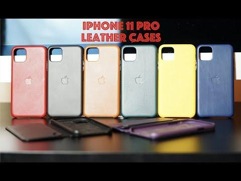 NEW 2019 iPhone 11 Pro & iPhone 11 Pro Max Leather Cases & Folio / Patina Proud!
