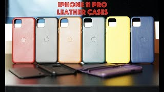 NEW 2019 iPhone 11 Pro & iPhone 11 Pro Max Leather Cases & Folio / Patina Proud!