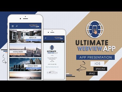📱 Ultimate Webview Mobile App iPhone iPad iOS [ Wordpress
