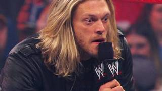 Raw: Edge announces his WrestleMania main event opponent