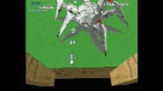 Xevious 3D/G+ PlayStation Gameplay - Xevious 3D/G+