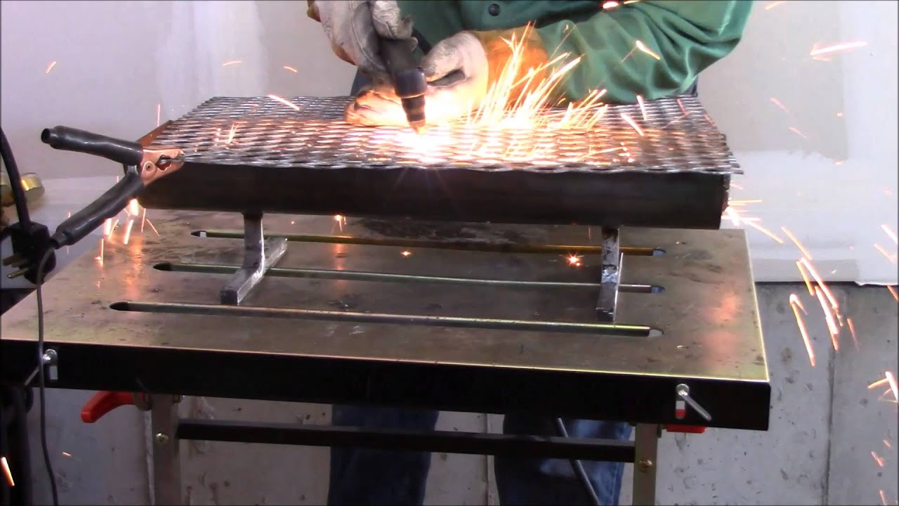 Weekend welding project hibachi grill youtube for Project weekend