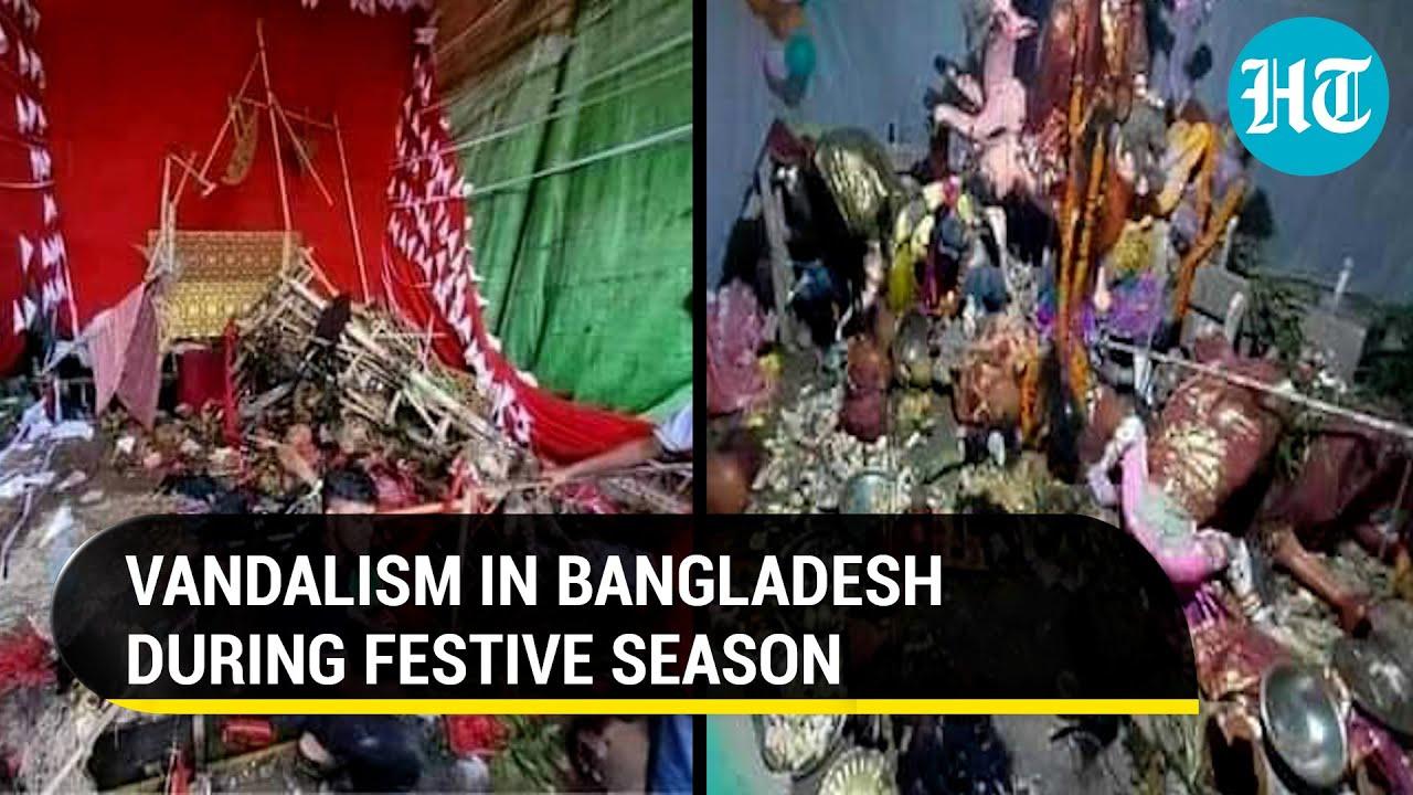 Download Durga puja pandals, Hindu temples attacked in Bangladesh: What India said