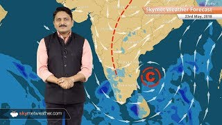 23 मई मौसम पूर्वानुमान: बिहार, झारखंड में बारिश; राजस्थान और गुजरात में लू का प्रकोप