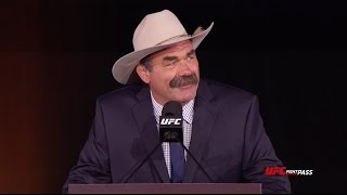 UFC Hall of Fame 2016 - Don Frye Speech
