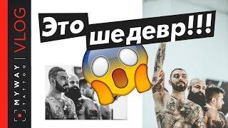 30 обнаженных татуированных в 11-метровом фото! Проект Black Twin