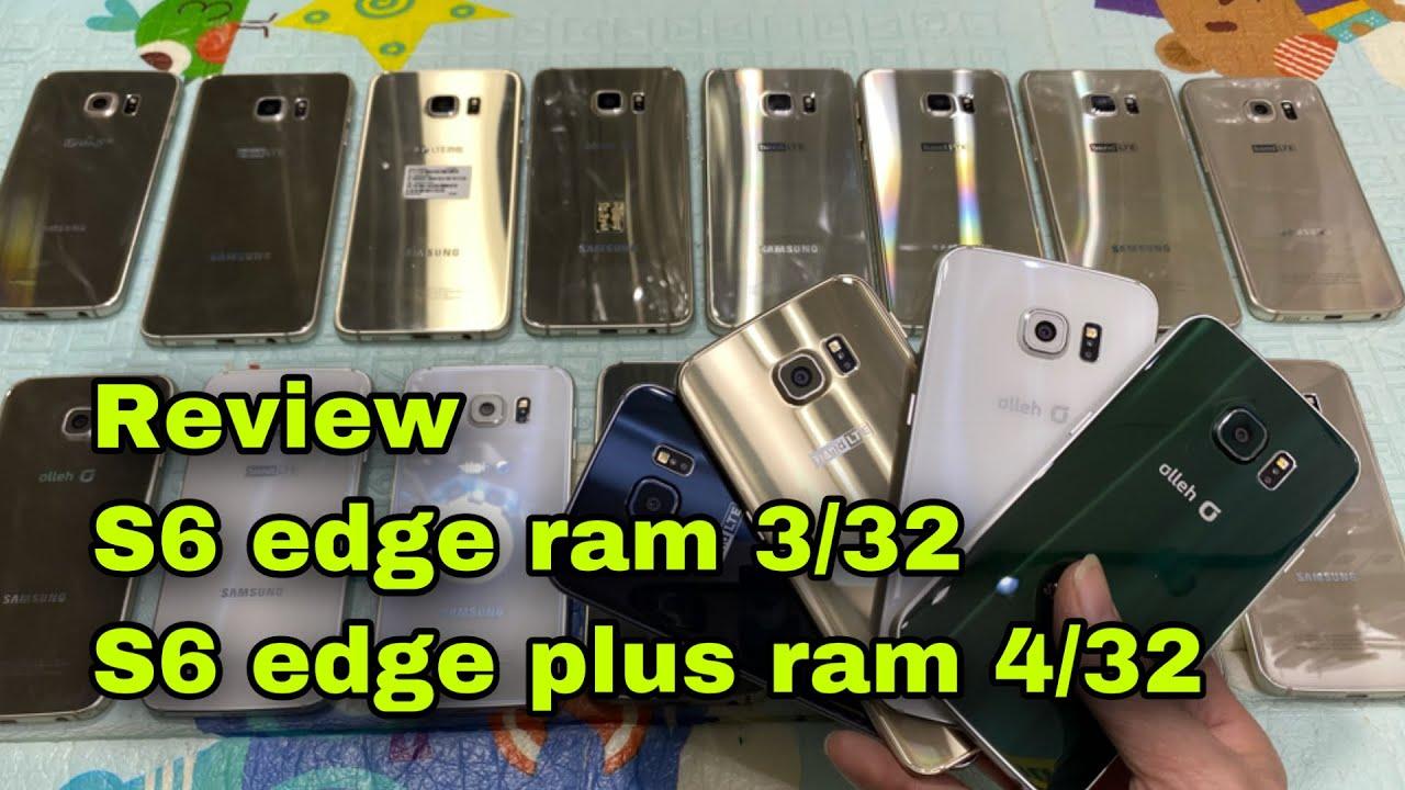 Review Sam sung S6 edge và S6 edge plus và so sánh với iphone 6s ngang giá tiền #thanhtustore