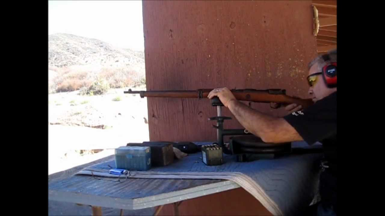 Japanese Arisaka Type 99 rifle at 1,000 yards