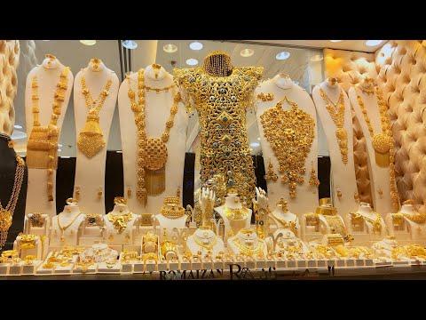 தமிழில் DUBAI GOLD MARKET / DUBAI GOLD SOUK VLOG
