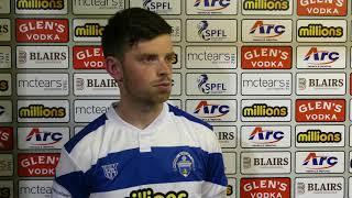 Craig McGuffie   Post Match   Montrose