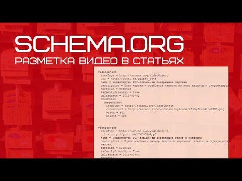 Микроразметка видео по schema.org