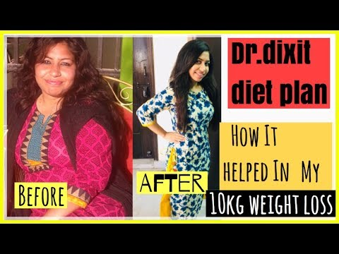 Dr. dixit diet plan and my weight loss journey | How i 10kgs fast | Azra Khan Fitness