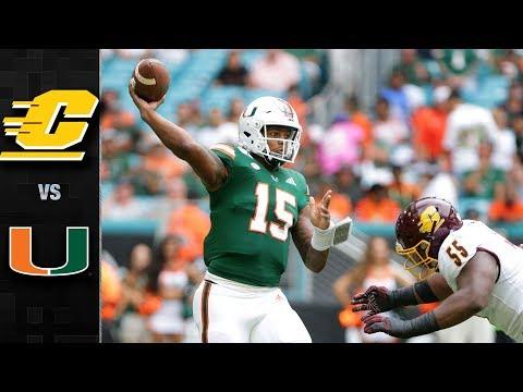 Central Michigan vs. Miami Football Highlights (2019)