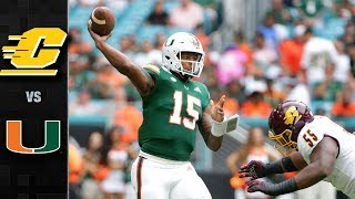 Central Michigan vs. Miami Football Highlights (2019)