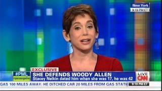 Stacey Nelkin Talking About Woody Allen on CNN