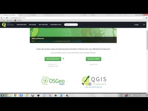 [a-1] Install QGIS, Download Data