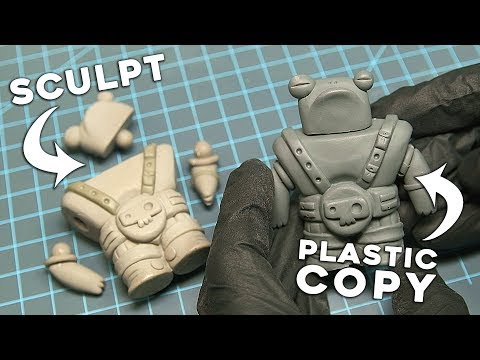 DIY Action Figure | Simple Ball Joint Articulation | How To Make Toys