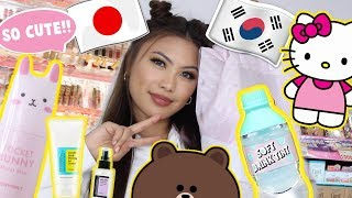 JAPANESE + KOREAN BEAUTY MAKEUP HAUL
