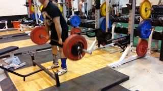 Stiff Leg Deadlift - 245 pounds/111.36 kg Set 2/4