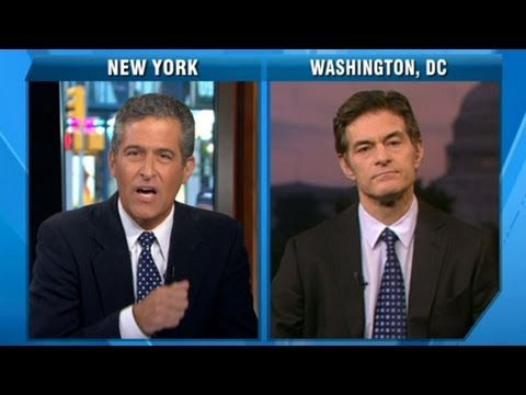 Dr. Mehmet Oz Accused of 'Fear Mongering' by Dr. Richard Besser For Arsenic in Apple Juice Warning