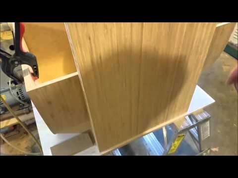Kravchenko Audio - Preparation of Bamboo Baffle Speaker
