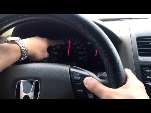 How do you use Cruise Control on Honda Accord?In Any Car?How Cruise Control works?Basic for Beginner