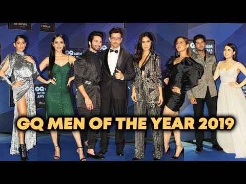 UNCUT - GQ Men Of The Year Award 2019 | Hrithik Roshan, Shahid Kapoor, Katrina Kaif Mp3