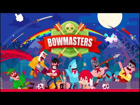 BOWMASTERS - All Characters in Game Part 1 - Android / iOS Gameplay