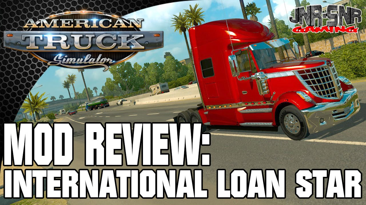 American Truck Simulator Mod Review International Lone