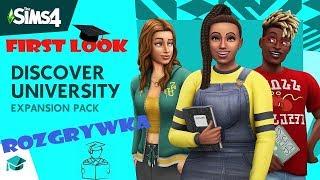 Młotka Śmiga na BMX a Undec Pilny Student  The Sims 4 Uniwersytet w/ Młoteczka