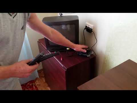 Как подключить цифровую приставку к старому телевизору видео