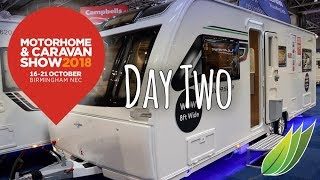 Motorhome and Caravan show 2018 Day 2