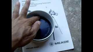 Homemade Telescope Solar Filter (Meade/Celestron)