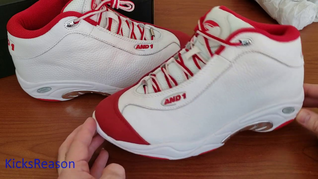 AND1 - Tai Chi - Probably The Best Quality Sneaker This Year!
